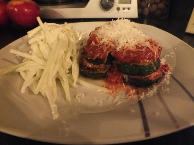 Zucchini alla parmigiana
